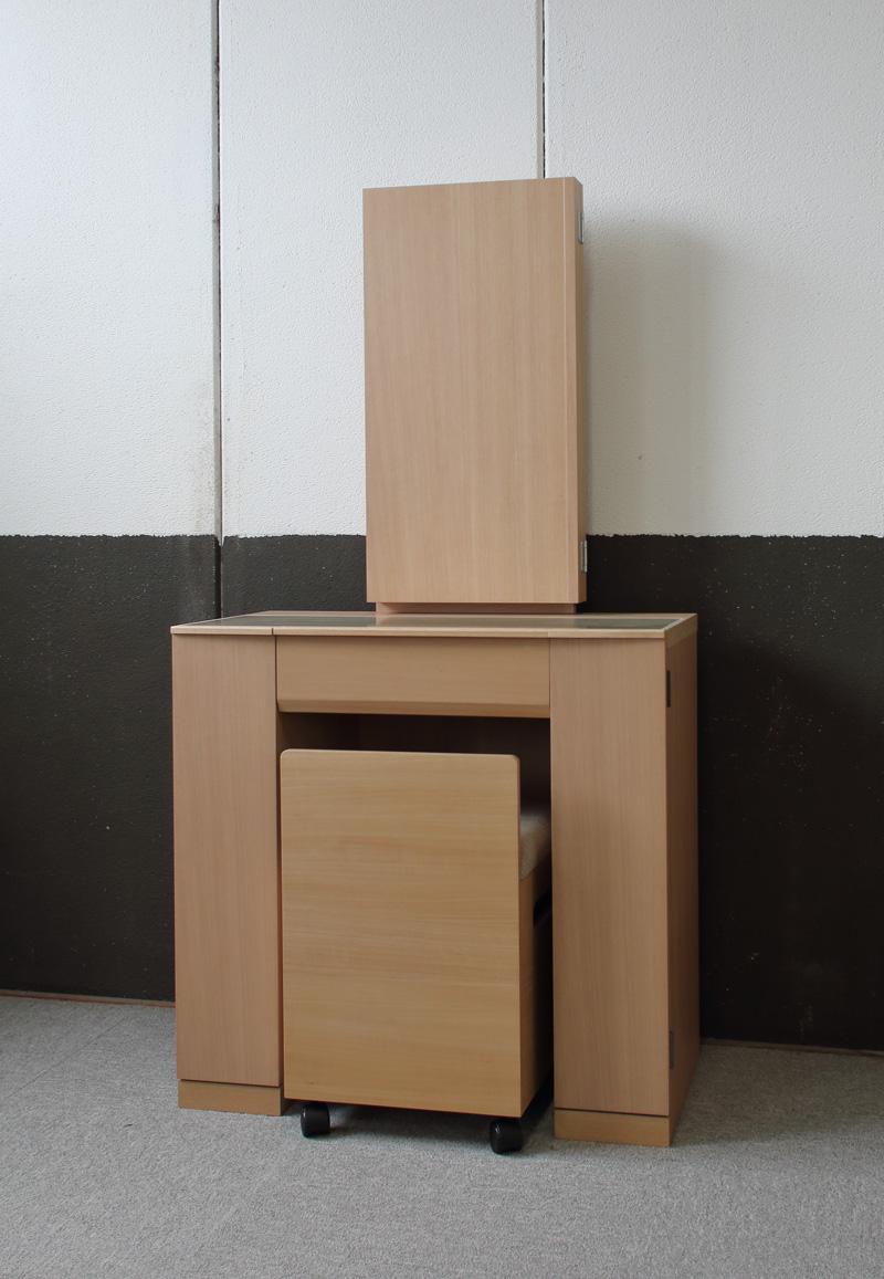 モダン本三面鏡台