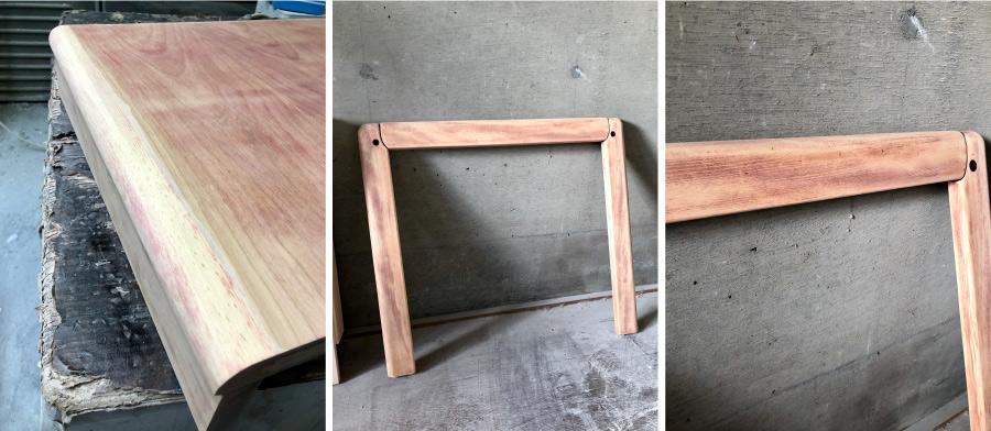 リペア塗装ダイニングテーブル