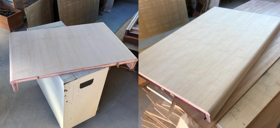 再塗装ダイニングテーブル