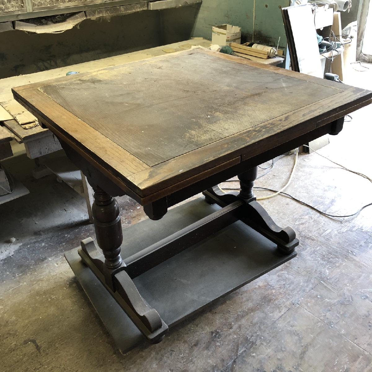 テーブル再生修理リペア家具