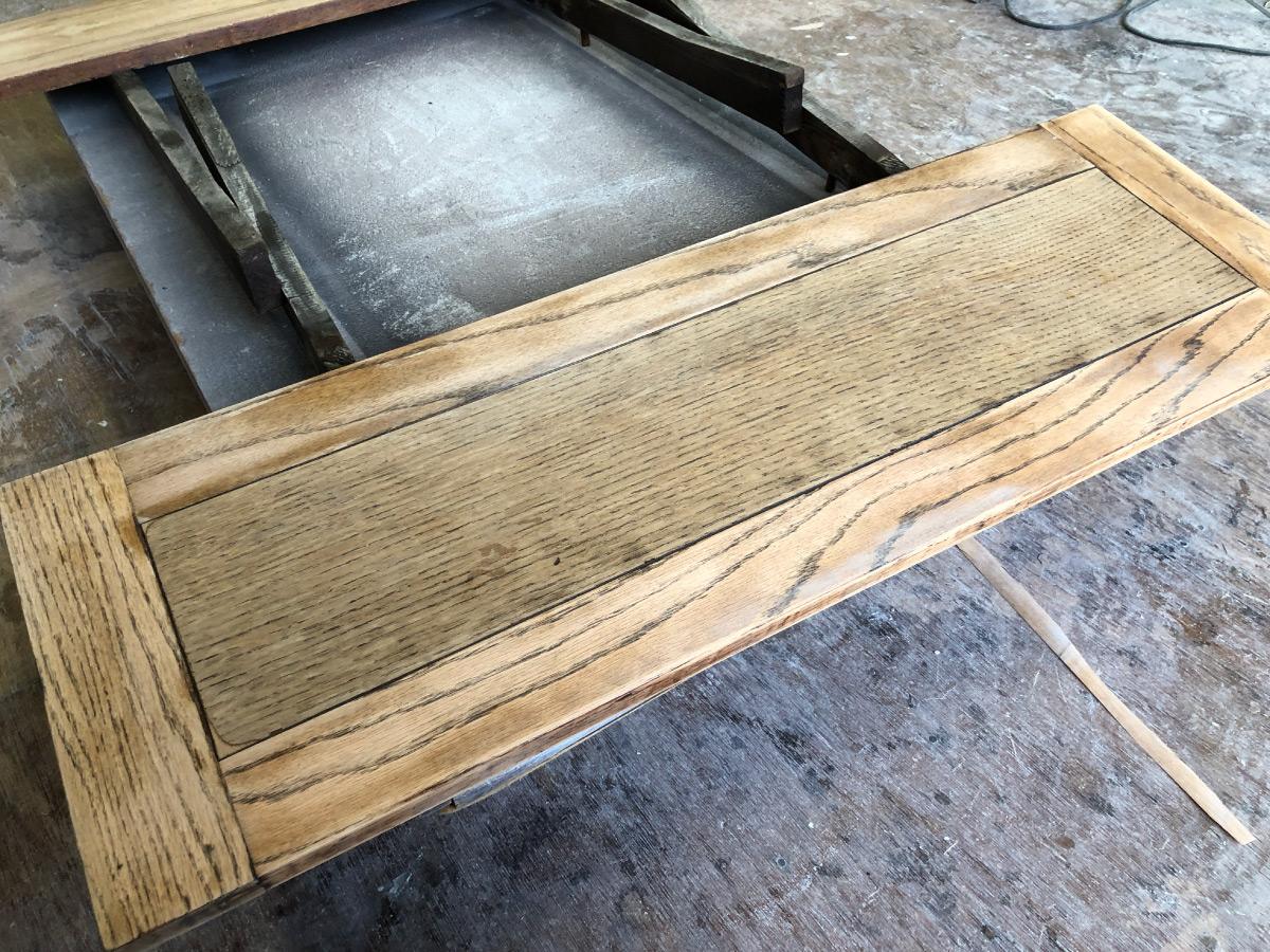 カフェテーブル修理リペア家具再生