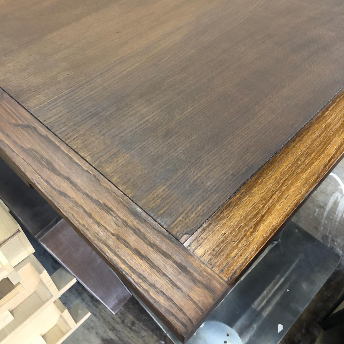 テーブル削り表面再生修理リペア家具
