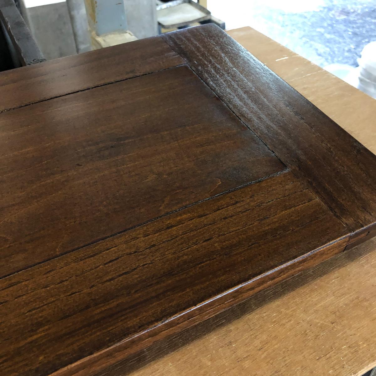 テーブル汚れ落とし修理リペア家具再生