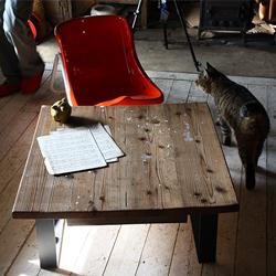 古材テーブルikp