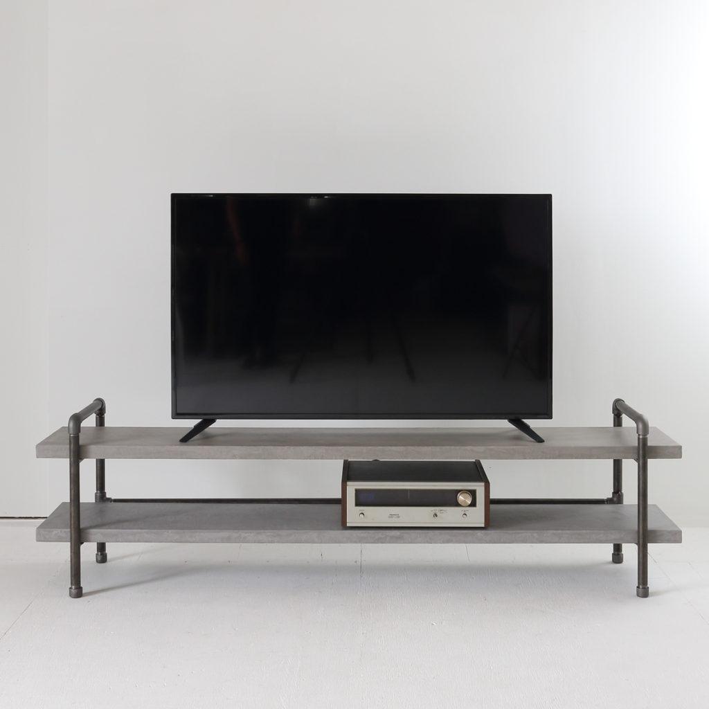 65型テレビに対応したモールテックスのテレビボード