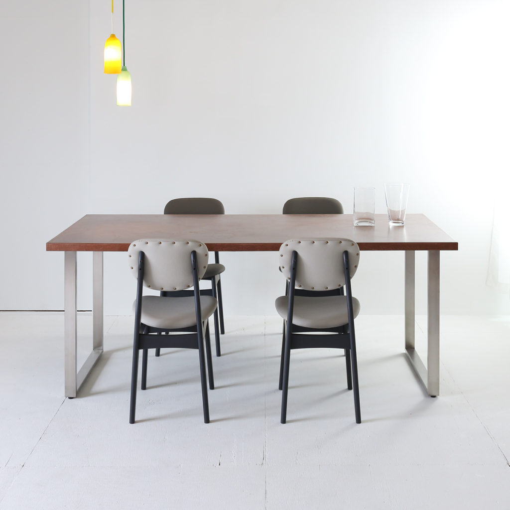 ピューロメタロ ブロンズ コッパー 6人用ダイニングテーブル